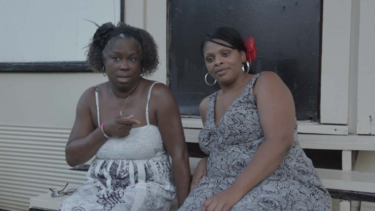 Featured in the film are Monica and Tammy as their DIY community prepares for an annual HIV retreat. (Courtesy: deepsouth)