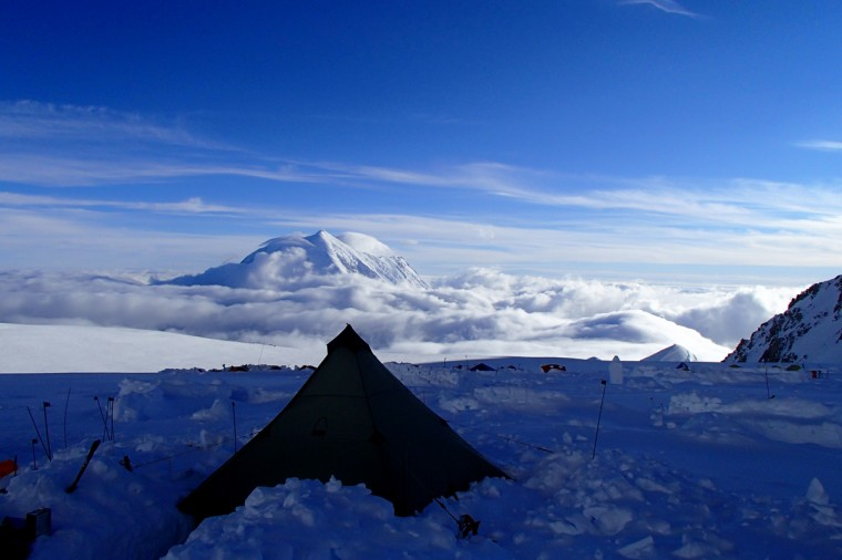 The view from Mt. McKinley at 14,000 feet. (Disabled Sports USA - Warfighter Sports)