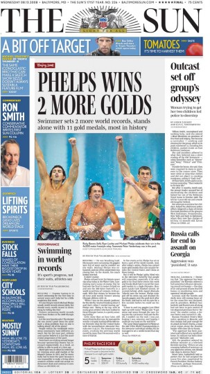 2008 Beijing: 200M Butterfly (Gold), 4x200M Freestyle Relay (Gold)