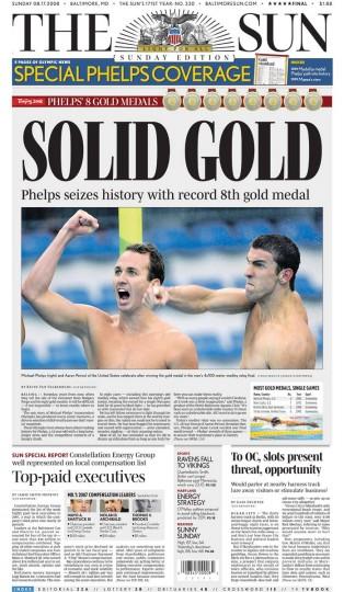 2008 Beijing: 4x100M Medley Relay (Gold)