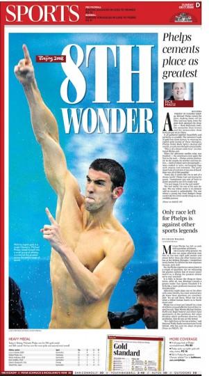 2008 Beijing: Michael Phelps special section