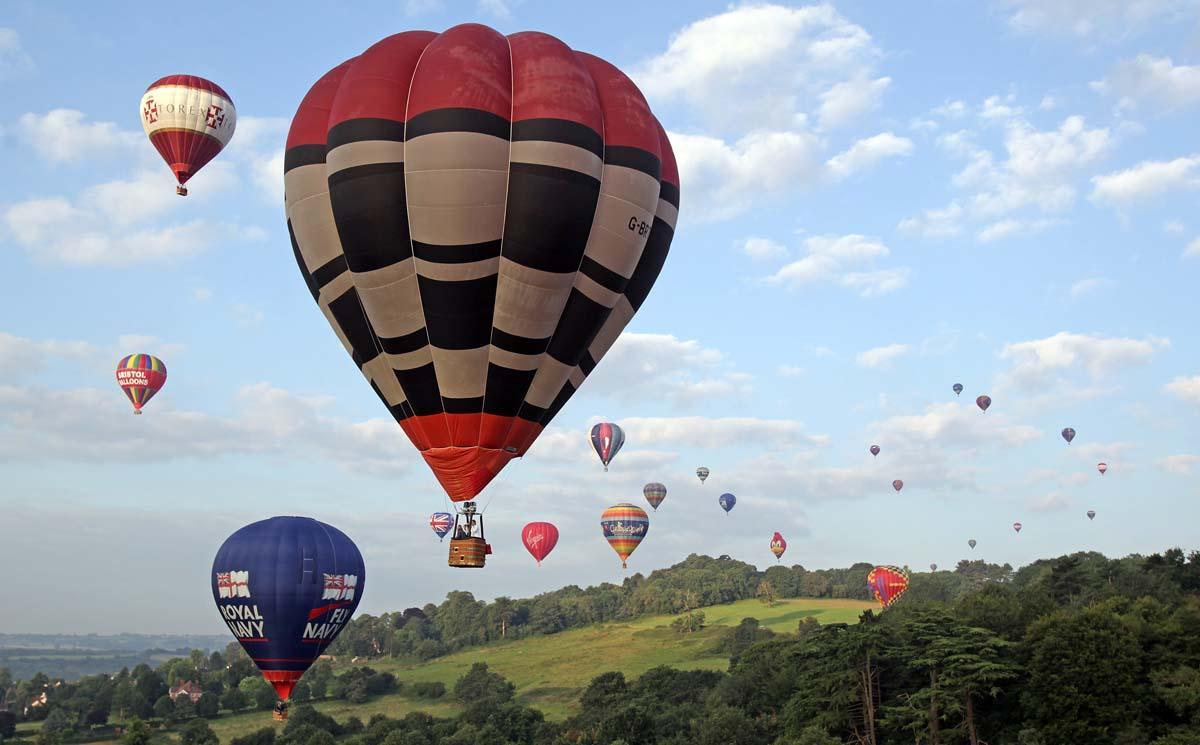 Bristol International Balloon Fiesta Balloon Fiesta in Bristol