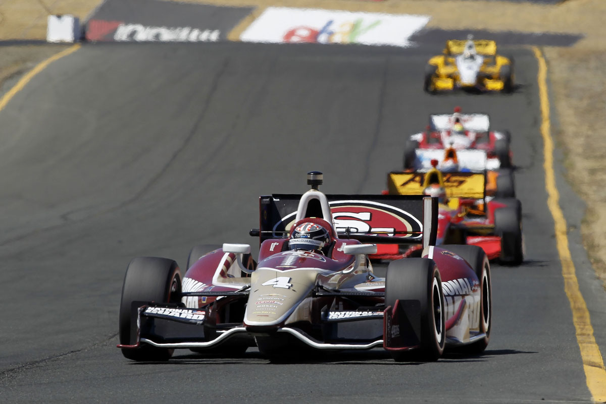 Ryan Briscoe takes the win at GoPro Indy Grand Prix of Sonoma