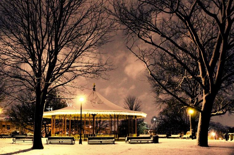 Riverside Park in winter. (Joe Sterne)
