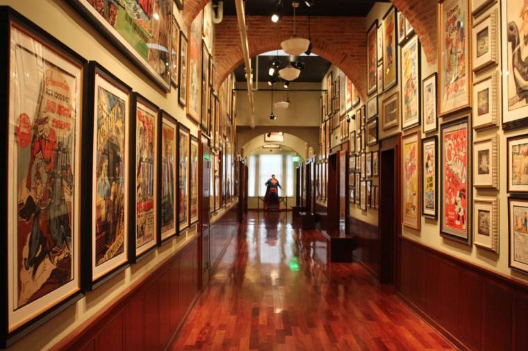 At the Geppis Museum (Joe Sterne)