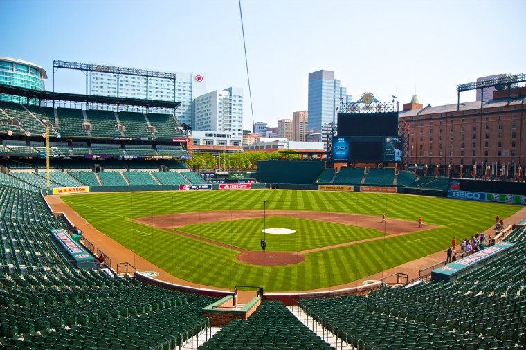 Taken on a tour of Camden Yards with The Photowalk Alliance. (Joe Sterne)