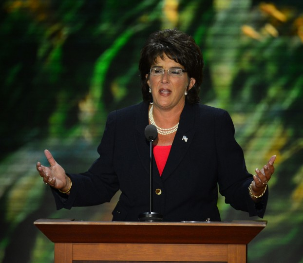Jackie Walorski, a Republican candidate from Indiana, speaks at the second session of the 2012 Republican National Convention at the Tampa Bay Times Forum in Tampa, Tuesday, August 28, 2012. (Harry E. Walker/MCT)