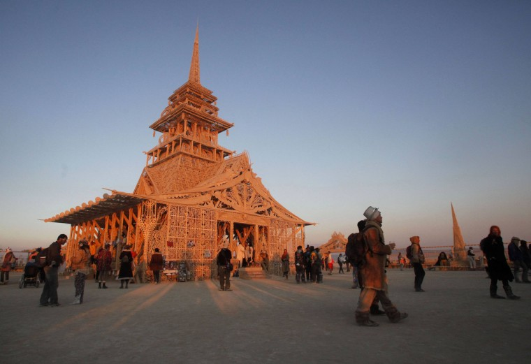 The Temple of Juno is seen at sunrise. (Jim Urquhart/Reuters)