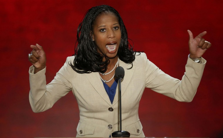 Republican U.S. congressional candidate and Saratoga Springs, Utah Mayor Mia Love addresses the second session of the Republican National Convention in Tampa, Florida August 28, 2012. (Mike Segar/Reuters)