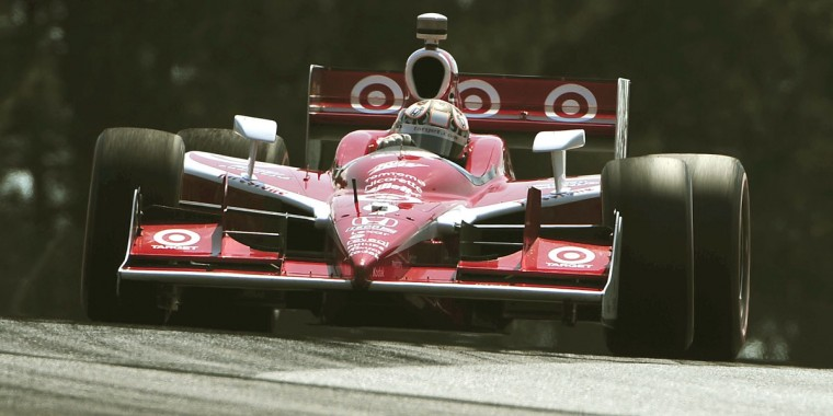 Pole setter and victor Scott Dixon during the Honda Indy 200 at Mid-Ohio on August 7, 2011. (Gene Sweeney Jr./Baltimore Sun)