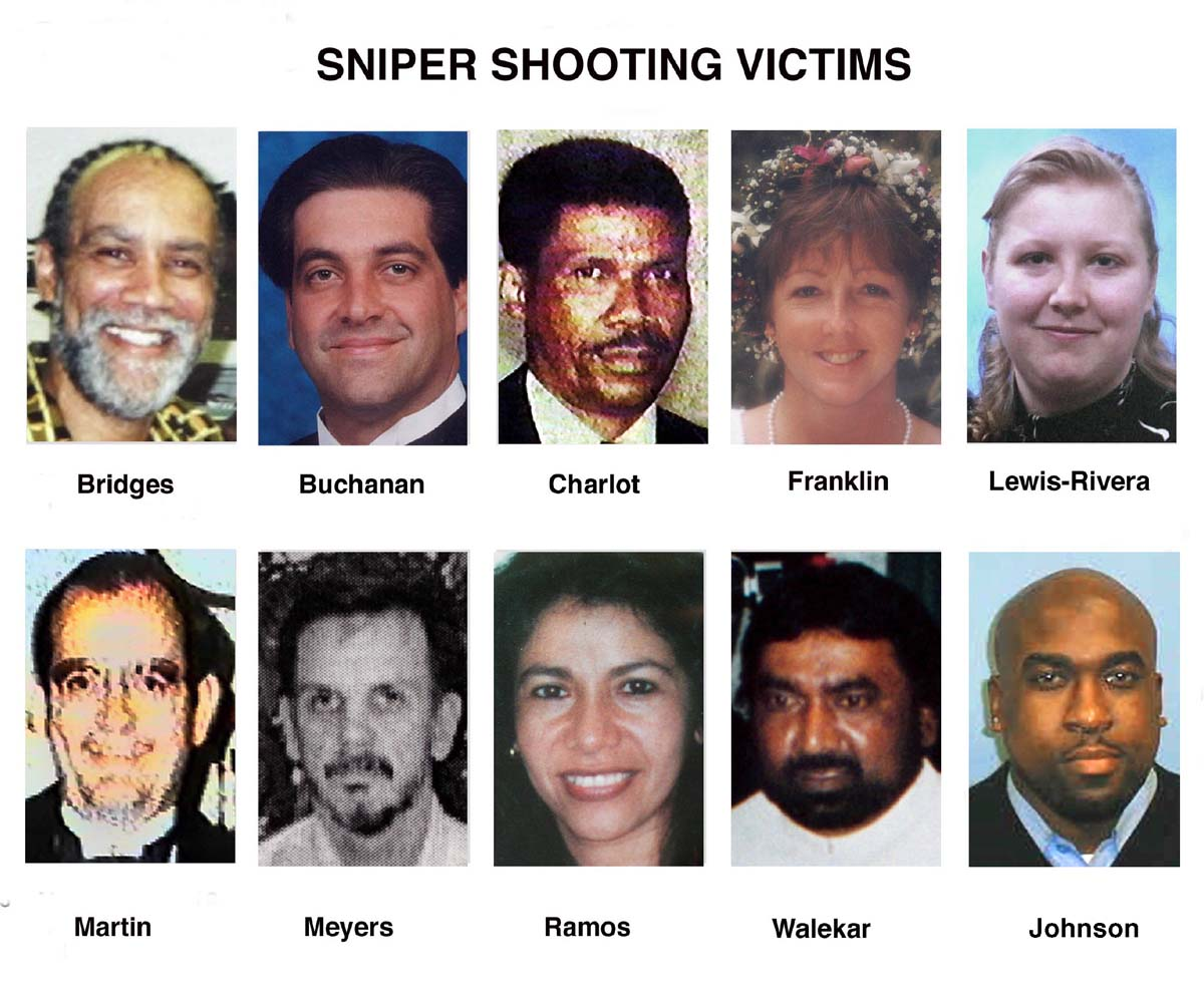 Washington DC sniper ten years later