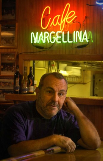 Paul LaRuffa, 58, owner of Margellina restaurant in Clinton, was the first victim of the snipers, Lee Boyd Malvo and John Allen Muhammad, who terrorized the Washington, D.C. area three years ago. He was shot five times at close range on Sept. 5, 2002, when he got into his car to leave the restaurant, and was then robbed. He was hospitalized with two collapsed lungs, but has recovered physically from his serious injuries. Now that Muhammad's trial is being held in MD, he may have to testify again. (Amy Davis/Baltimore Sun)