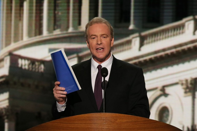 U.S. Rep. Chris Van Hollen (D-MD) speaks during day two of the Democratic National Convention at Time Warner Cable Arena on September 5, 2012 in Charlotte, North Carolina. (Alex Wong/Getty Images)