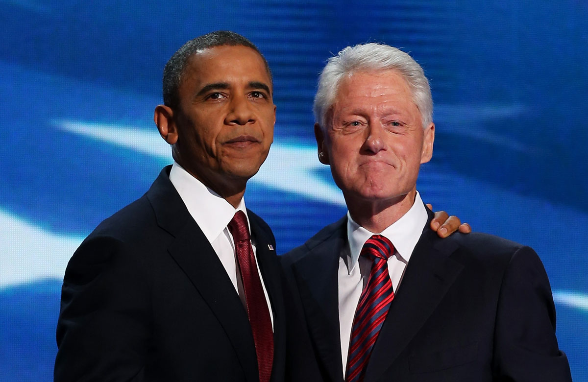 Bill Clinton defends Obama's record, rallies Democrats on Day 2 of the Democratic National Convention