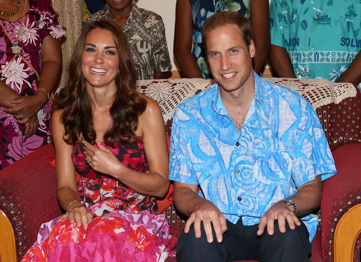 50 photos from Prince William and Kate's Far East Diamond Jubilee Tour
