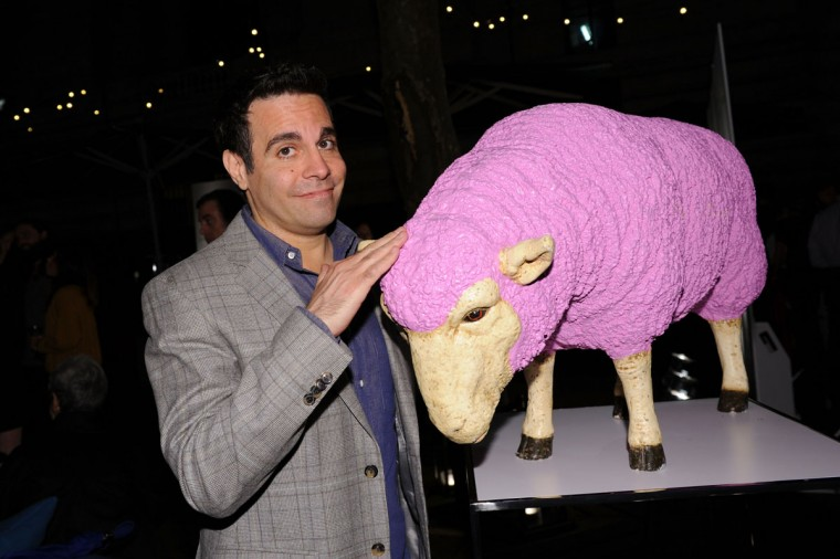 Mario Cantone attends the US launch of HRH The Prince of Wales' Campaign For Wool at Bryant Park on September 27, 2012 in New York City. The Campaign, in the US for the first time, is to educate consumers about the natural benefits of wool and to promote wool-rich products to a national audience. (Bryan Bedder/Getty Images for Campaign For Wool)