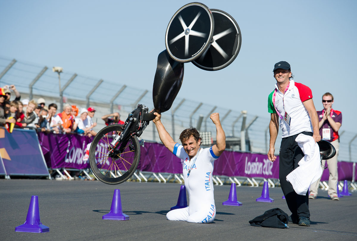 50 Paralympian victory celebrations from the London 2012 Games