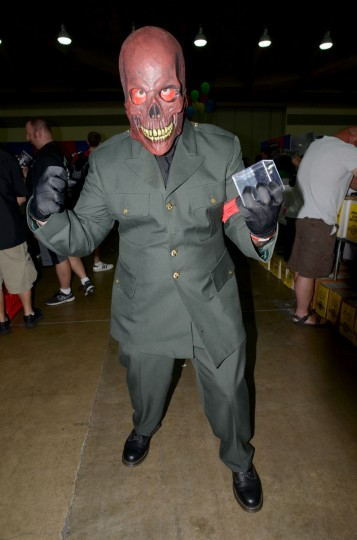 John Arroyo, 42, of Cockeysville, as the The Red Skull. (Credit: J.M. Giordano)