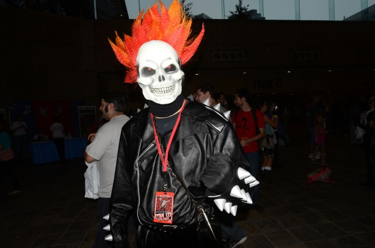 Ghost Rider made an appearance to take the souls of the unholy. (Credit: J.M. Giordano)