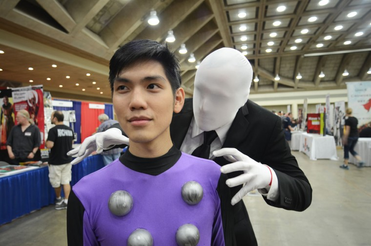 Legion of Superheroes member Cosmic Boy (Brian Jausurawong, 22) is unaware of his impending doom. (Credit: J.M. Giordano)