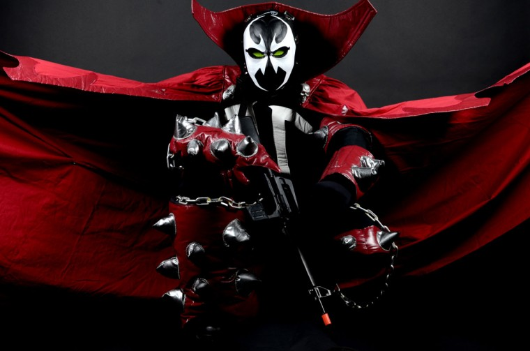 Jared Speranza, 33, of High Point N.C. dressed as Spawn (Credit: J.M. Giordano)