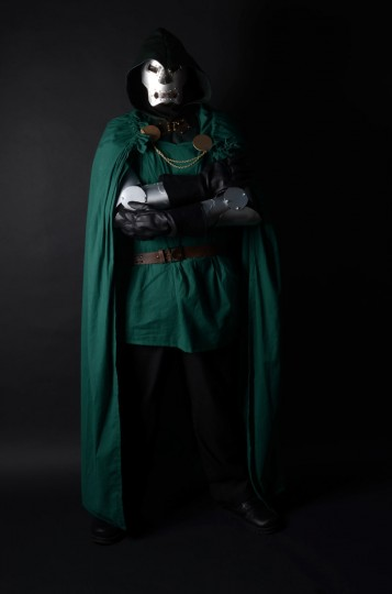Jessie Jarvis, 21, of Selbyville, Del. as Dr. Doom. (Credit: J.M. Giordano)