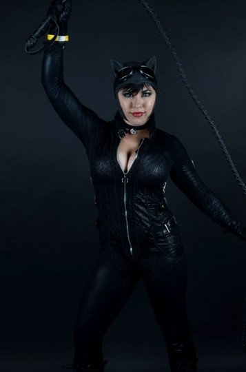 Catwoman -- 23-year-old Bethany Maddock of Boston. (Credit: J.M. Giordano)