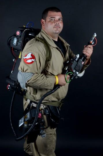 Ghostbuster: 27-year-oldJason Schwab of Baltimore (Credit: J.M. Giordano)