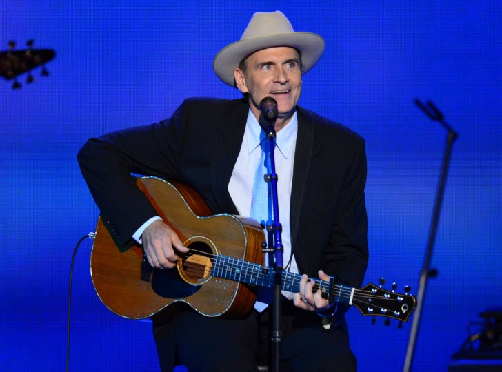 James Taylor performs at the 2012 Democratic National Convention in Times Warner Cable Arena Thursday, September 6, 2012 in Charlotte, North Carolina. (Harry E. Walker/MCT)