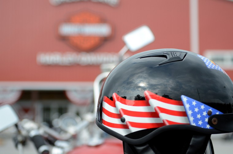 The Patriot Day Ride started at Chesapeake Harley-Davidson in Darlington and ended at McAvoy's in Parkville. (Jon Sham/Patuxent Homestead)
