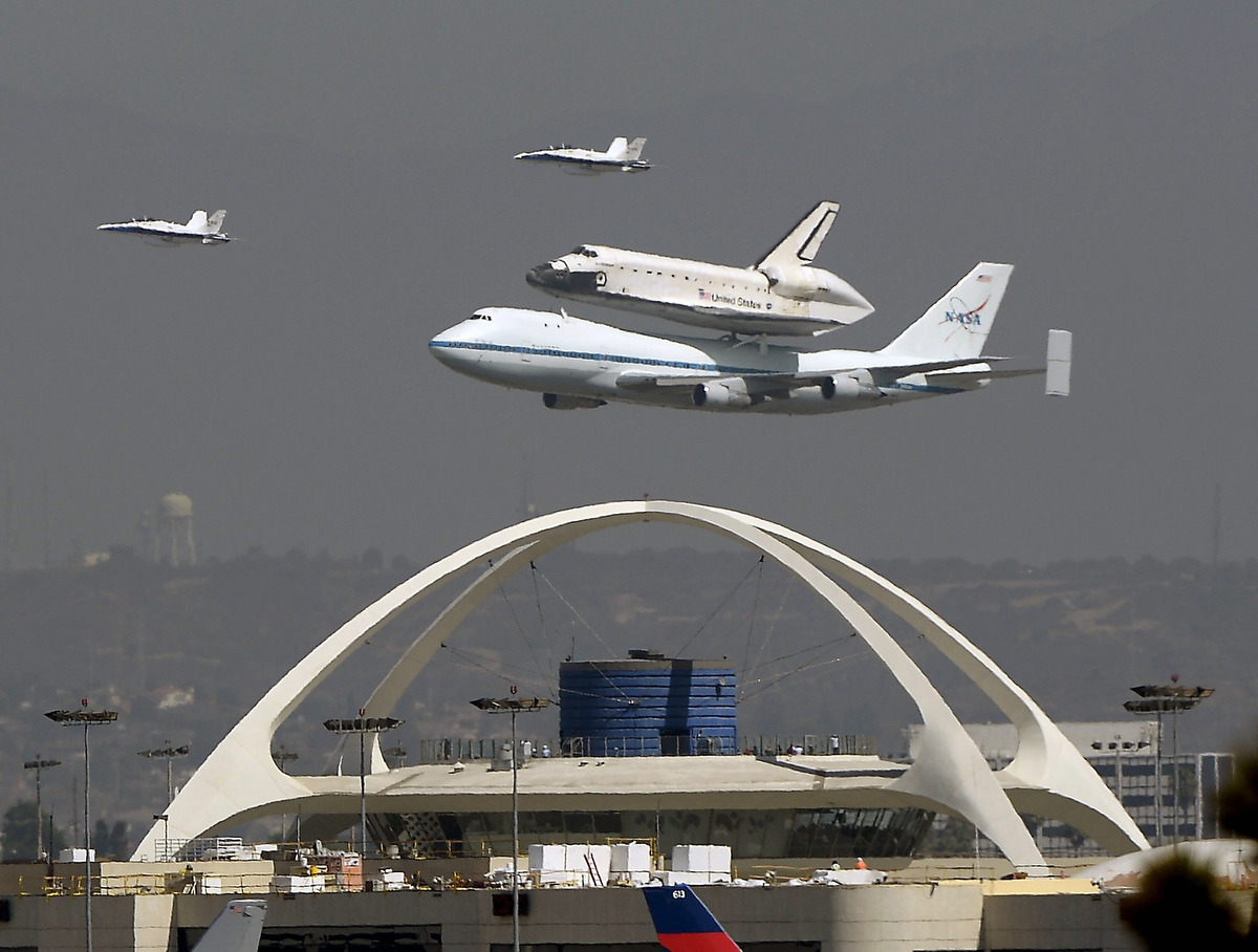 where is space shuttle endeavour - photo #24