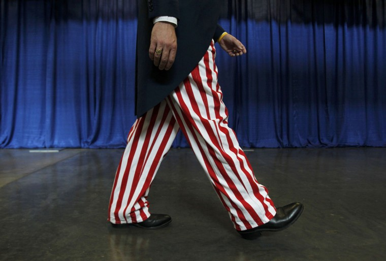 A delegate attends the final session of the Democratic National Convention in Charlotte, North Carolina September 6, 2012. (Jessica Rinaldi/Reuters)
