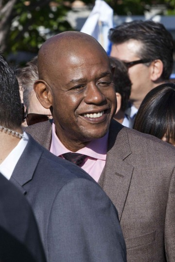Actor Forest Whitaker attends a ceremony to commemorate International Peace Day at the United Nations in New York. (Andrew Burton/Reuters)