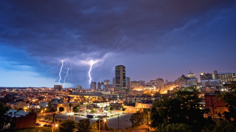Severe weather in Richmond, Va. (Photo Credit: Jamie Betts)