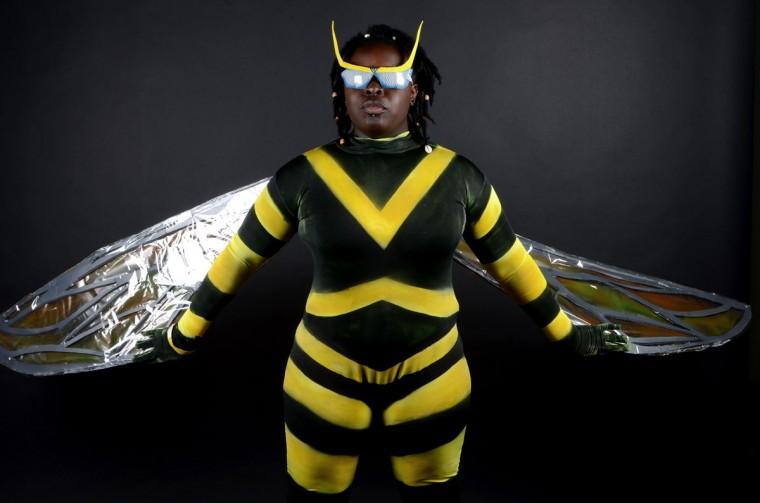 Bumble Bee -- Christine Churchwell, 28, of Philadelphia (Credit: J.M. Giordano)