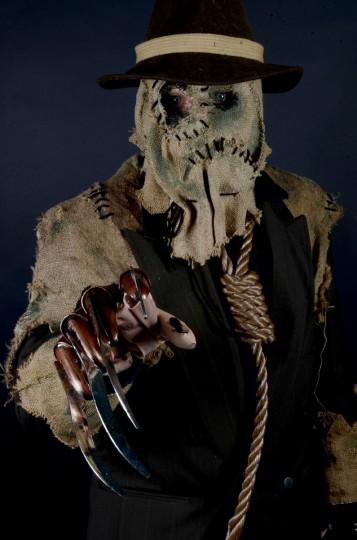 Scarecrow -- Brandon Hirsch, 27, of Manchester, Md. (Credit: J.M. Giordano)