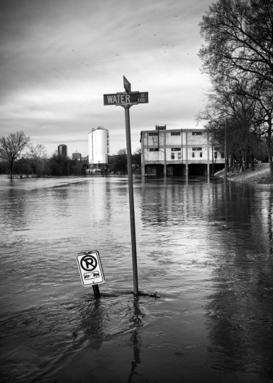 Flood. (Photo Credit: Jamie Betts)