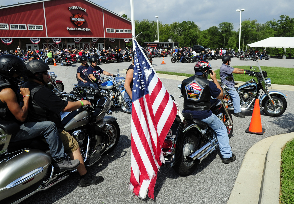 Patriot Day riders travel down Route 1 to remember 9/11