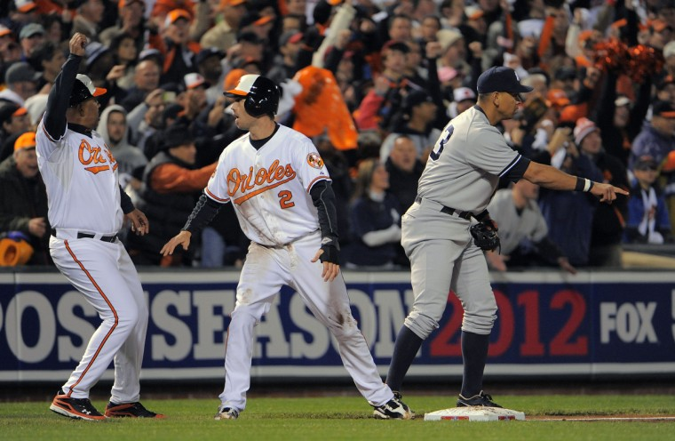 BBA ALDS GAME 2 YANKEES ORIOLES