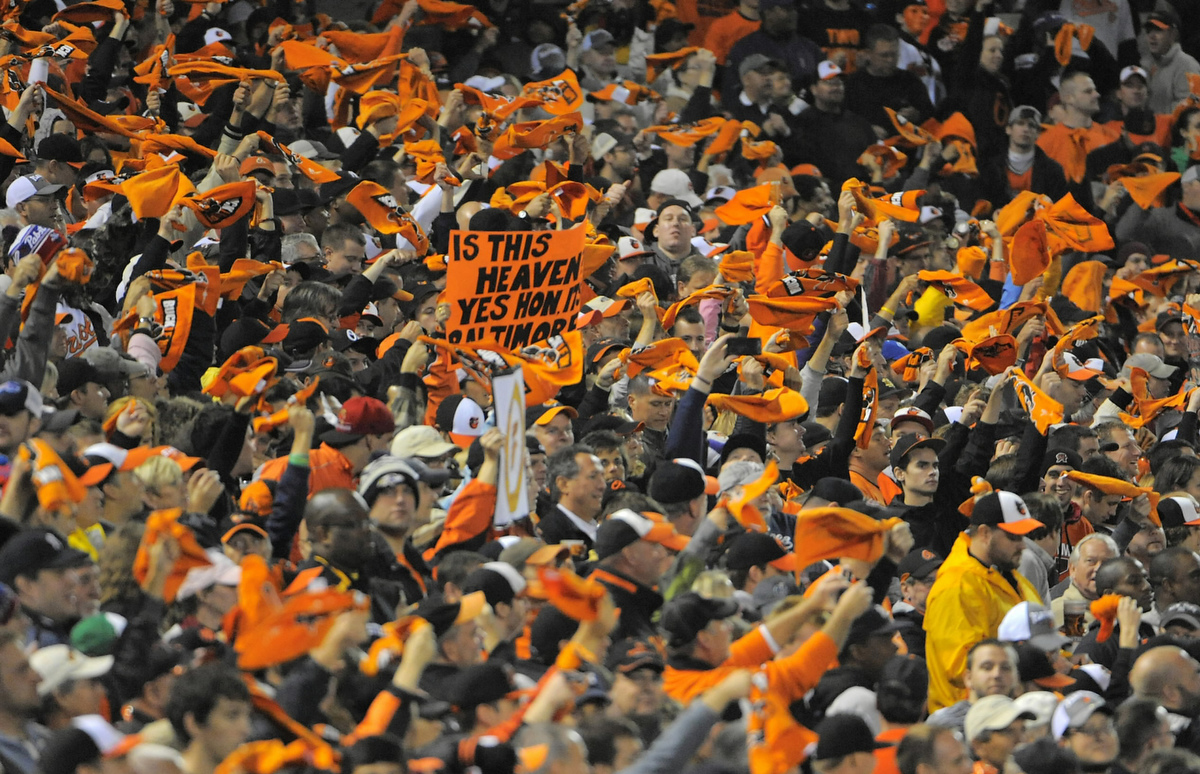 Rough Cut: A raw edit of the Baltimore Orioles and the New York Yankees game one playoffs