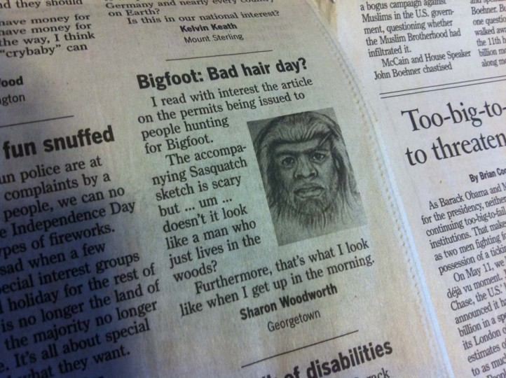 Bigfoot : Danville, Kentucky (Courtesy of Freak Flag America)