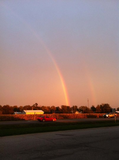 Double Rainbow : Lebanon, Illinois (Courtesy of Freak Flag America)