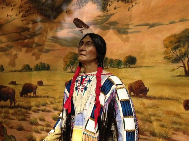 Animatronic Native American : St. Louis, Missouri (Courtesy of Freak Flag America)