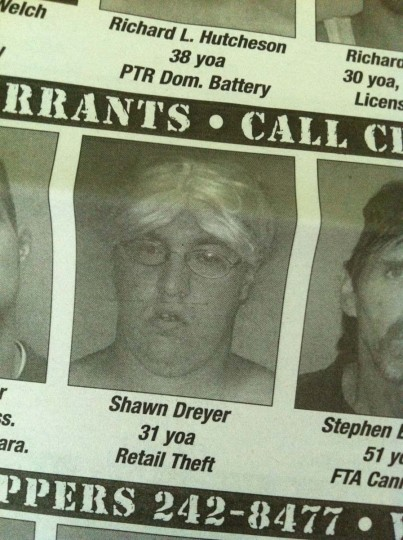 Wigged Thief: Mt. Vernon, Illinois (Courtesy of Freak Flag America)