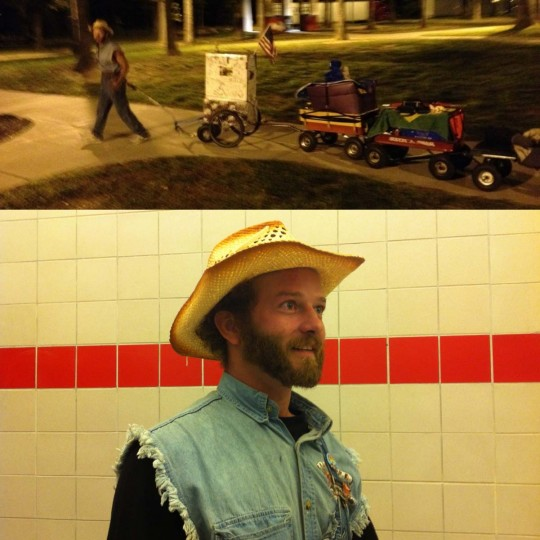 Brazilian Hobo : Marshfield, Missouri (Courtesy of Freak Flag America)