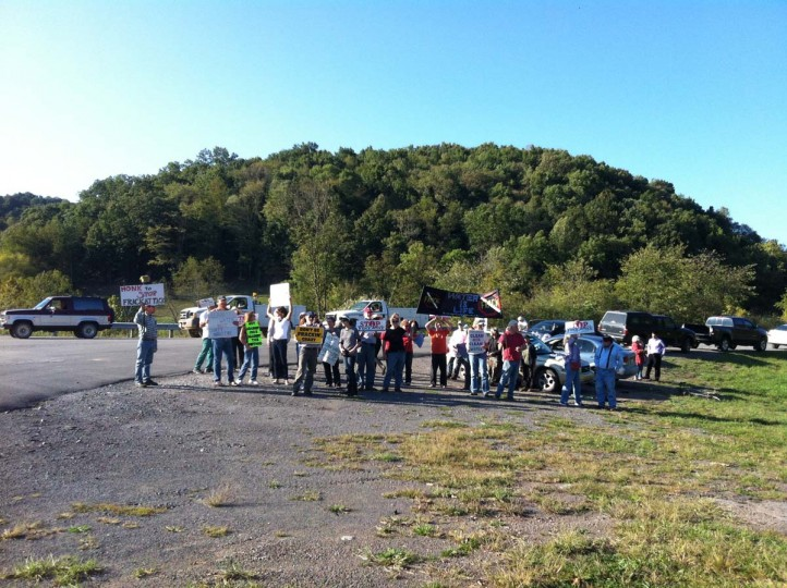 Fracking Protest : Doddridge, West Virginia (Courtesy of Freak Flag America)