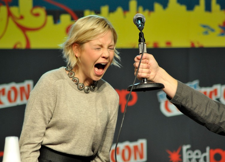 Adelaide Clemens attends the 2012 New York Comic Con in New York City. (Daniel Zuchnik/Getty Images)