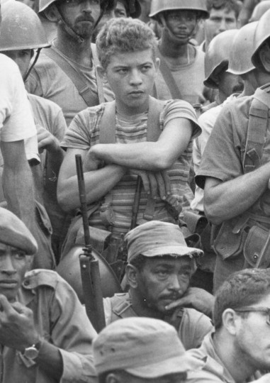Members of the Cuban militia mobilized during the October 1962 missile crisis. (Handout photo/AFP/Getty Images)