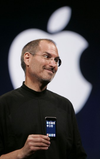 September 5, 2007: Apple CEO Steve Jobs introduces the new Apple iPod Touch in San Francisco, in this file photo. (Paul Sakuma/AP Photo)