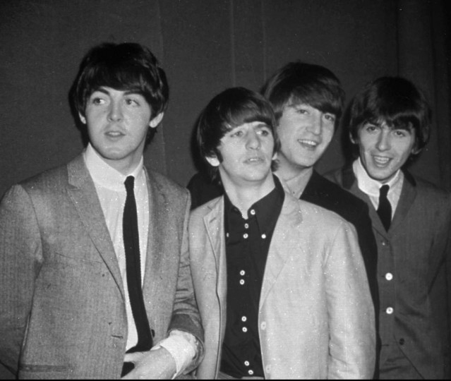 The Beatles - from left, Paul McCartney, Ringo Starr, John Lennon and George Harrison - are shown in this November 1963 photo. (AP Photo)